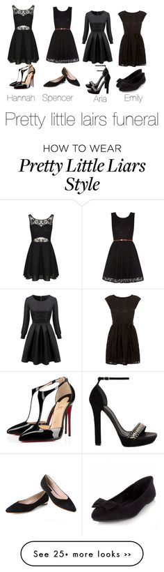 """Pretty little liars"" by starrwhite-i on Polyvore"