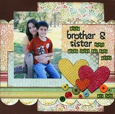 Being Brother & Sister **Embossing CT Reveal** : Gallery : A Cherry On Top