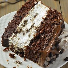 Oreo Cheesecake Chocolate Cake, so decadent chocolate cake recipe. Oreo cheesecake sandwiched between two layers of soft, rich and fudgy chocolate cake. Chocolate Oreo Cheesecake Recipe, Decadent Chocolate Cake, Chocolate Desserts, Cookie Cheesecake, Oreo Cake, Chocolate Chocolate, Oreo Cookies, Chocolate Lovers, Chocolate Lasagna