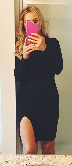 Romantic date night or special event black dress
