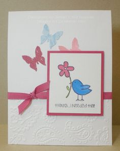 Thanks, I needed that! - Stamps by Stampin' Up - made in 2010