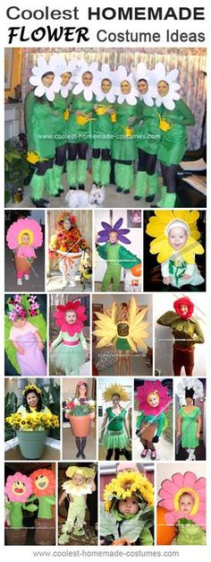 Homemade Flower Costume Collection - Coolest Halloween Costume Contest