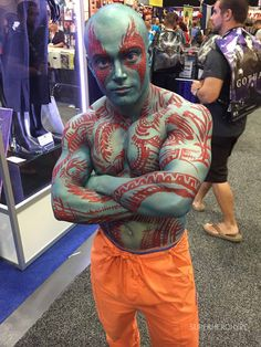 Drax the Destroyer - Cosplay Photos from the Second Day of Comic-Con - SuperHeroHype