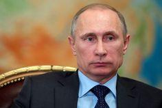 Russlands Präsident Putin und die Halbinsel Krim
