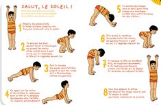 Yoga des petits Salut au soleil