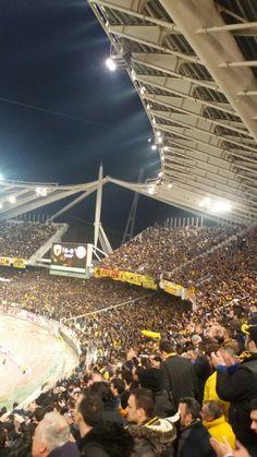 Μόνο ΑΕΚ Athens Greece, Basketball Court, Spirit, Football, The Originals, Futbol, American Football, Soccer Ball, Soccer