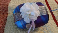 Check out this item in my Etsy shop https://www.etsy.com/listing/516461116/ring-bearer-pillow-purple-chiffonlilac