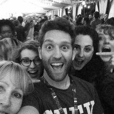 #Glastonbury2016 #bbc #team #workdone #partytime