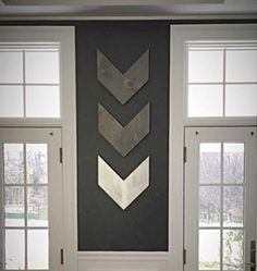 Add a rustic modern touch to your home with our rustic wood wall arrows! Perfect for home décor!  Each arrow is 14.5x16 This listing is for a set