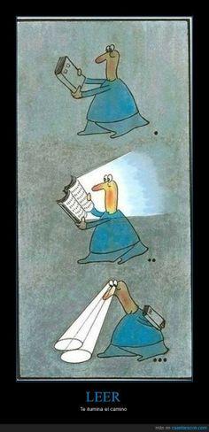 leer ilumina