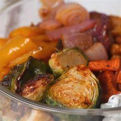 Vegetarian Grain Bowl Meal Prep