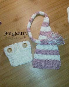 Long Tailed Baby Hat Crochet Pattern