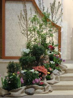 easter+church+decorations | Art and Environment | Christ the King Catholic Church