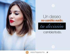 La vida está hecha para tomar decisiones que te hagan ser una mejor persona cada día. :)