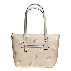 Floral Print Taylor Tote | Lord and Taylor