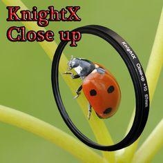 KnightX Close Up 49mm 52mm 55mm 58mm 67mm 77mm Macro lens Filter for Nikon Canon EOS DSLR go pro d5300 600d d3200 d5100 d3300