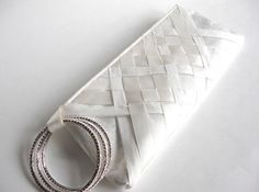 woven bridal clutch  (by keepbags)