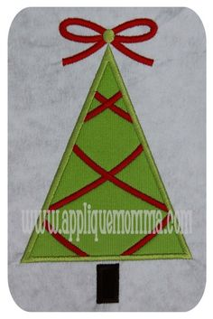 Criss Cross Christmas Tree Applique Design Sizes include: hoop hoop hoop This design comes with a satin and zigzag finish in each size. Applique Patterns, Applique Designs, Embroidery Applique, Machine Embroidery, Embroidery Designs, Motifs D'appliques, Advent Calenders, Christmas Applique, Criss Cross