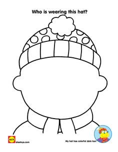 Draw a self portrait and dress yourself for winter with this fun #printable | alexbrands.com