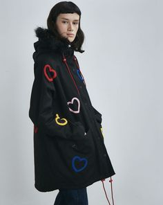 Lazy Oaf Heart Collection Jacket - Clothing - New In - Womens