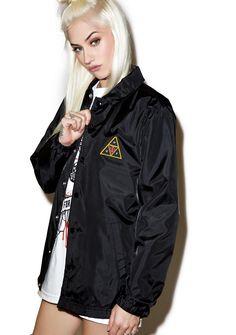 0a3ba817039e HUF HUF X Obey Coaches Jacket Festival Shorts
