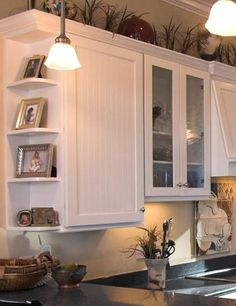 kitchen cabinet corner shelf cheap floor mats example of curved ideas for the house pinterest someday i will maybe be able to afford a total remodel and love this
