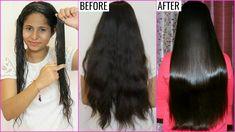 PERMANENT Hair Straightening - 100% Natural Hair Care | PrettyPriyaTV - YouTube
