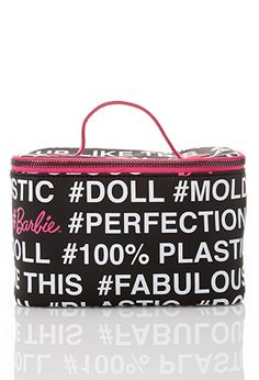 #Barbie Travel Cosmetic Case | FOREVER 21 - 1000130026