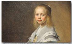 Johannes Cornelisz Verspronck (c.1600-1662) – Portrait of a Girl Dressed in Blue, detail. Rijksmuseum, Amsterdam.