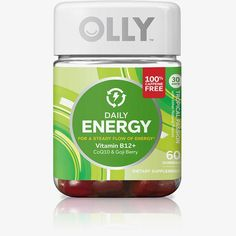 OLLY Daily Energy, Caffeine Free Energy Gummy Supplements, Tropical Passion, 60 Count Contains 1 bottle with 60 gummies Nutrition made simple There's an OLLY for everyone Energy Supplements, Nutritional Supplements, Olly Vitamins, Vitamins For Energy, Cellular Energy, Prenatal Vitamins, Natural Energy, Fruit Smoothies, Smoothie Drinks