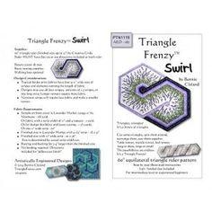 Triangle Frenzy Swirl pattern