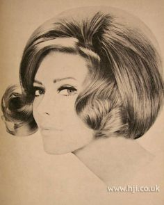 1966 bob curls hairstyle        Hairstyle by: Simon Hext