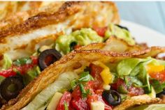 No Grains! Soft Tortilla Tacos (corn-free, paleo, dairy-free, keto + low-carb)