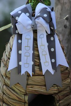 Equestrian hair Bows  a pair 2 sold together by BowstotheShows, $32.00