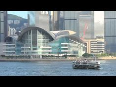 Take a tour of Hong Kong Ferry Ride in China -- part of the World's Greatest Attractions travel video series by GeoBeats. The view of Hong Kong from the Vict. China Travel Guide, Travel Videos, The World's Greatest, Marina Bay Sands, Hong Kong, Tours, Building, Buildings, Construction