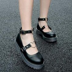 Cheap women shoes, Buy Quality round toe directly from China shoes woman shoes women Suppliers: Round Toe Sweet Lovely Lolita Adorable Doll Women's Shoes Womens Slippers, Womens Flats, Cute Shoes, Me Too Shoes, Women's Shoes, Mid Heel Shoes, Lolita Shoes, Aesthetic Shoes, Moda Casual