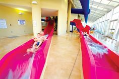 A child could only wish. Keep Swimming, Water Slides, Cool Kids, Home Goods, Indoor, Children, Amazing Houses, Travel, Image
