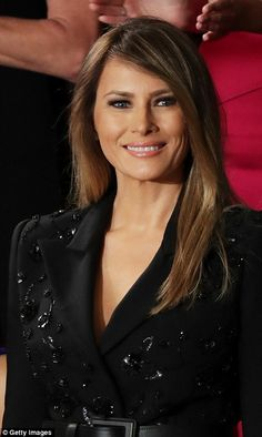 It's a time-honored tradition for the first lady to bring special guests to the president's joint addresses  before Congress. And this evening was no exception.