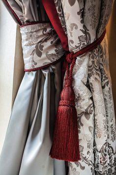 Jak wybrać idealne firany do salonu? Passementerie, Slipcovers, Decorating Tips, Window Treatments, Wrap Dress, Textiles, Pretty, Beautiful, Dresses
