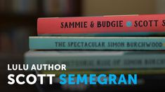 "Congrats Scott Semegran for the interview on Lulu Author Talks https://youtu.be/j1aBG-4gyz0 glad have the plug about the Texas Association of Authors award for best cover and best general fiction 2018 award for your book.""Sammie & Budgie"" Read a sample chapter here http://books.txauthors.com/product-p/sssb3.htm"