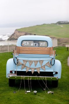 Looking for some cute just married wedding car ideas? Here's 18 fun ways to decorate your car...