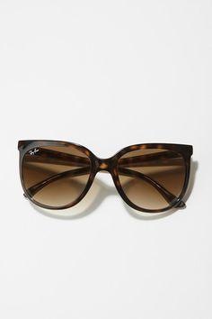 ray ban p-retro cat sunglasses