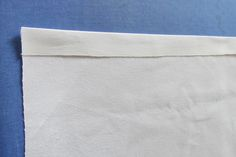 Easy DIY: How to Make a No-Sew Table Runner: Step 2: Create Your First Hem