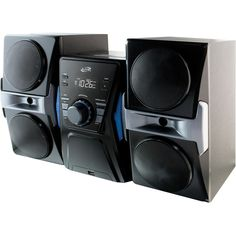 DPI Bluetooth Home Stereo System with CD Player and FM Radio #IHB613B