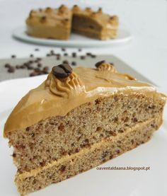 O avental da Ana: Bolo Moka / Moka Cake