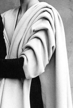 Balenciaga - Vintage - Détail d'une Manche