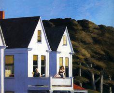 Second Story Sunlight via Edward Hopper Size: 101.6x127 cm Medium: oil, canvas