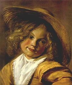 Girl with a Straw Hat - Judith Leyster