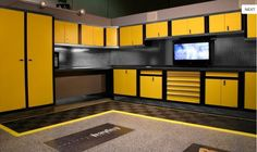storage cabinets for garage design and organizing