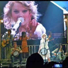 Taylor Swift concert in Nashville, TN